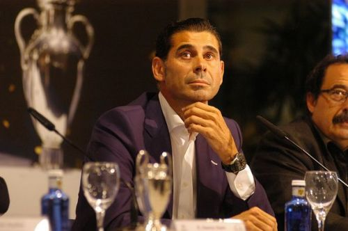 Fernando Hierro, Assistant Coach of Real Madrid