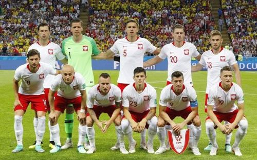 Football: Poland vs Colombia at World Cup