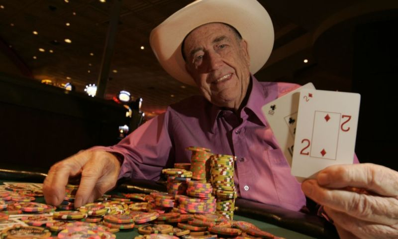 Doyle Brunson Retires From WSOP With 10K 2 7 Lowball Draw Championship