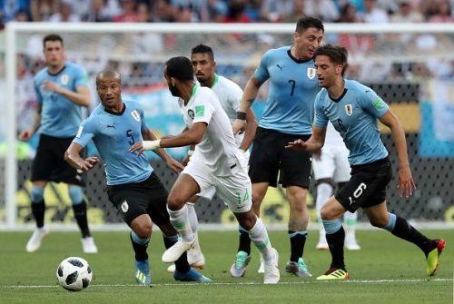 2018 FIFA World Cup Group Stage: Uruguay vs Saudi Arabia