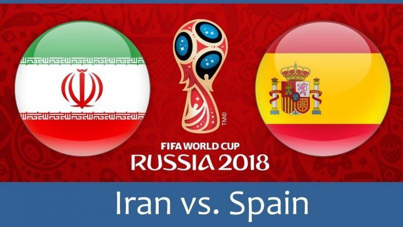 Image result for spain vs iran