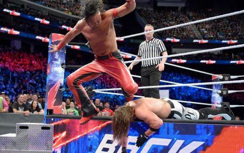 Shinsuke Nakamura chose WWE over NJPW back in 2016