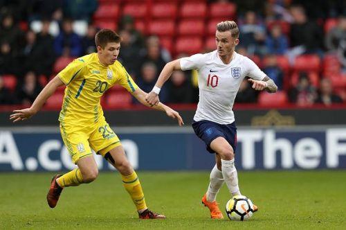 England U21 v Ukraine U21 - UEFA European U21 Championship Qualifying - Group 4 - Bramall Lane
