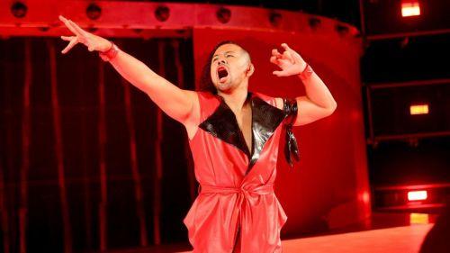 Shinsuke Nakamura was bit by a dog on Monday