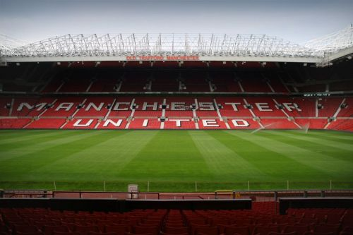 Old Trafford - one of football's most iconic grounds.