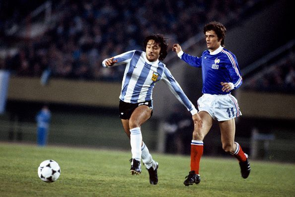 Soccer - World Cup Argentina 78 - Group One - Argentina v France - Monumental Stadium