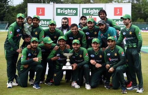 Pakistan won 7th consecutive T20I series