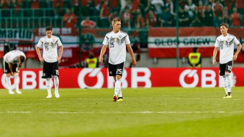 Germany aren't at full strength with World Cup just over 10 days away