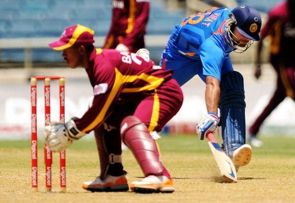 West Indies wicketkeeper Carlton Baugh (