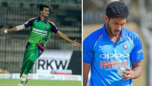 Both young Indian pacers will train at the National Cricket Center