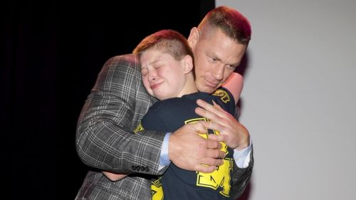 Cena has been an exceptional role model for children all over the world