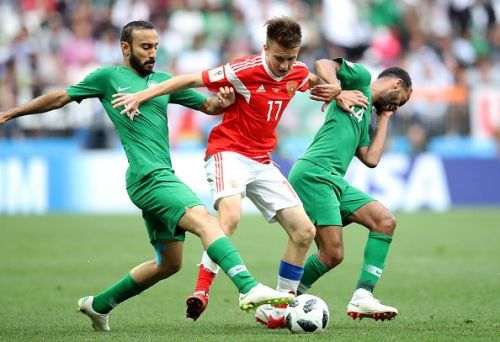 Russia v Saudi Arabia - FIFA World Cup 2018 - Group A - Luzhniki Stadium