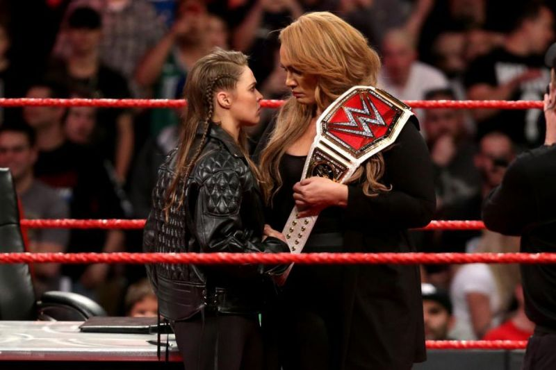 Did Ronda Rousey only sign a one year deal with WWE?