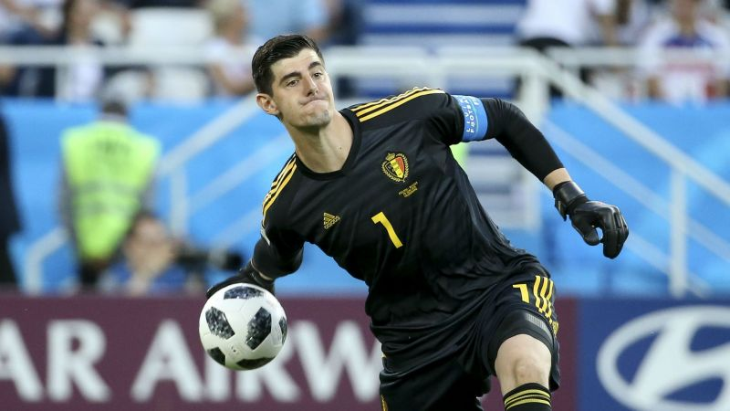 Image result for thibaut courtois belgium world cup