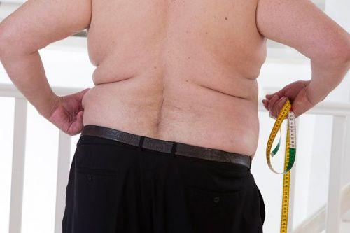 Obesity man senior, Photo Illustration