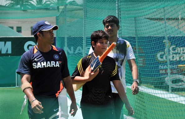 Indian superstar cricketer Sachin Tendul