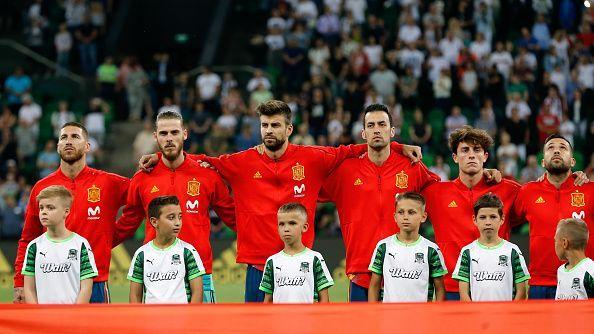 Spain - Russia 2018