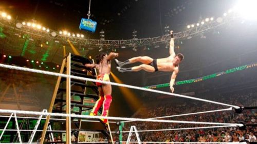 Kofi has been in six MITB ladder matches and still never won