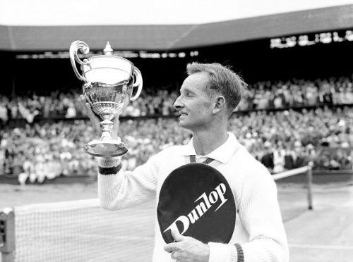 Tennis - Wimbledon Championships - Men's Singles - Final - Rod Laver v Martin Mulligan