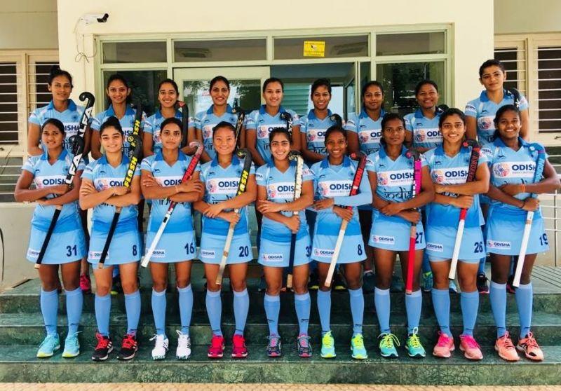 Hockey India Names 18 Member Indian Women S Team For Vitality Hockey