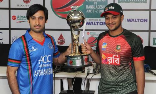 Afghanistan are eighth on the T20I team rankings while Bangladesh are 10th