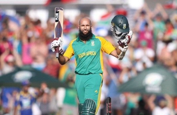 Hashim Amla led the South African squad in U-19 World Cup in 2002.