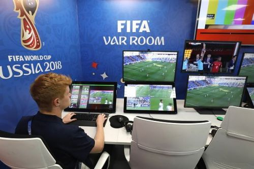 2018 FIFA World Cup: International Broadcast Center in Moscow