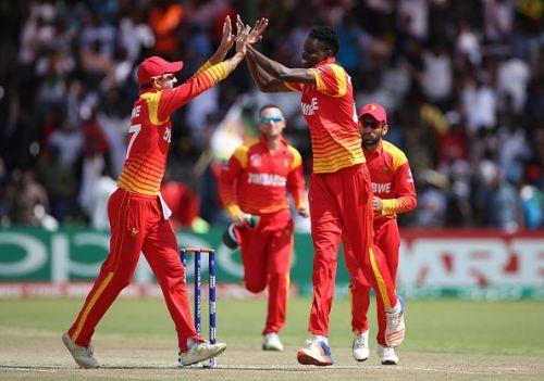 West Indies v Zimbabwe - ICC Cricket World Cup Qualifier