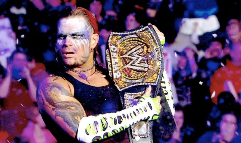 a3a1dd94 5 steps to Jeff Hardy winning the WWE Championship again