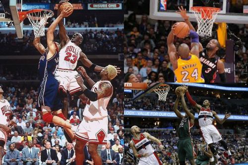 Will John Wall actually go down as the best shot blocking guard? or will D-Wade kick into gear and leave MJ in
