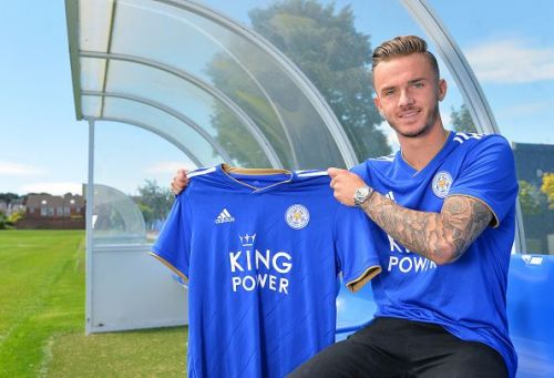 Leicester City Unveil New Signing James Maddison