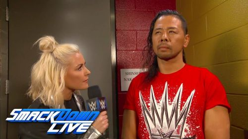 Image result for shinsuke nakamura with renee young