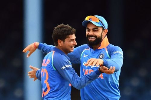 Kuldeep produced a splendid spell to ensnare Ireland's middle-order