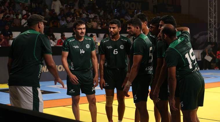 kabaddi masters dubai 2018 semifinal iran vs pakistan