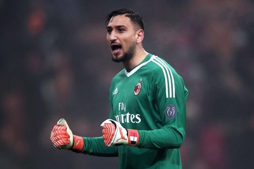 Donnarumma has played over 100 games for AC Milan