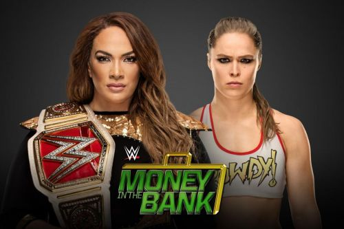 Was the card order changed at the last minute at Money in the Bank?
