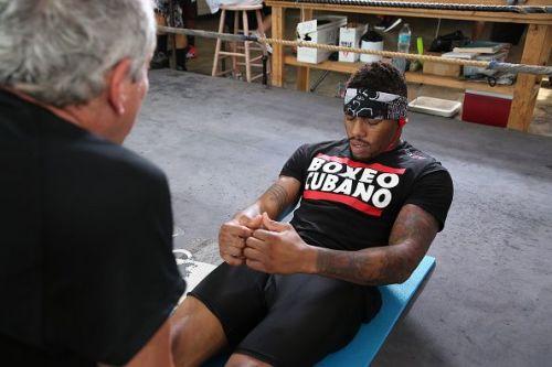 Willie Monroe Training Session