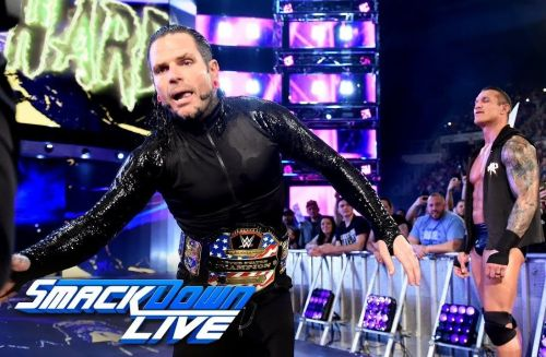 Jeff Hardy is reportedly working through an injury