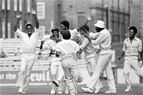 The Windies cricket team during their heydays.