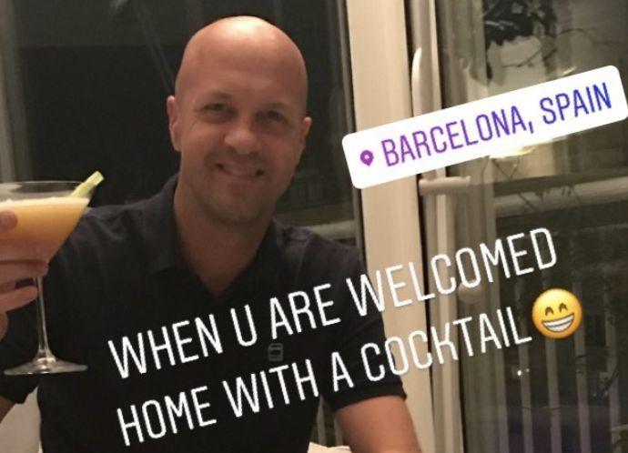 The Cruyff family still lives in Barcelona
