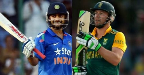 Two of the greatest ODI batsmen of all-time