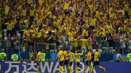 Sweden marked their return to World Cup after 12 years with a win