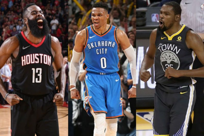 Former OKC teammates from 2012, all rank in Top 5 earners in the sport of Basketball.