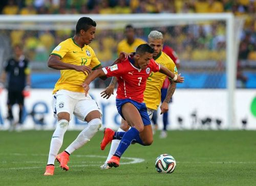 SOCCER : FIFA World Cup 2014 - Round of 16 - Brazil v Chile
