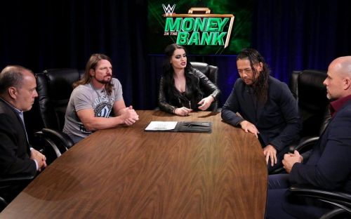 AJ Styles and Shinsuke Nakamura will likely do battle well after Money In The Bank