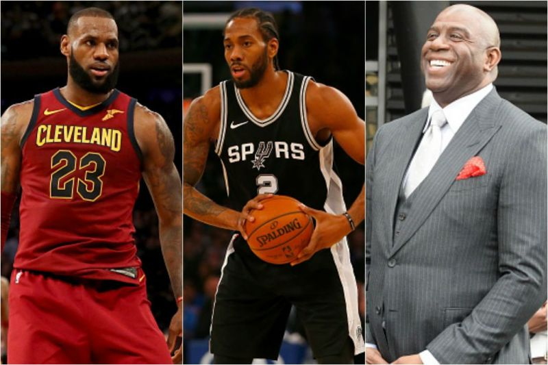 7f53743fb NBA Free Agency  Lakers-Spurs re-engage in Kawhi Trade Talk  Deal could land  LeBron