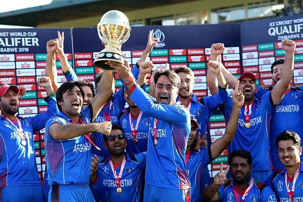West Indies v Afghanistan - ICC Cricket World Cup Qualifier Final