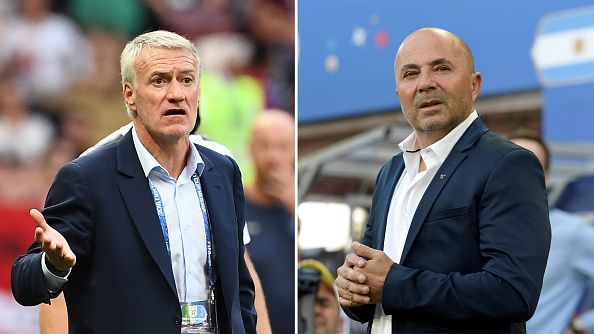 Deschamps and Sampaoli will try to outmatch each other with their tactics