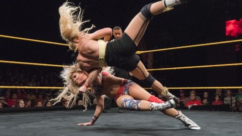 Candice LeRae's singles career is off with a bang!