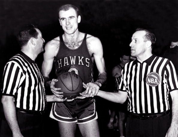 Bob Pettit is the first player to score 50 points in the NBA Finals